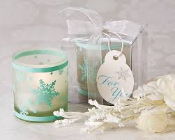 candle party favors winter lights snowflake tea light candle holder favors