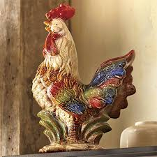 Country Kitchen Décor Worth Crowing About