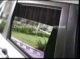 car sunshade curtain youtube