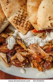 chicken shawarma plate stock images royalty free images u0026 vectors