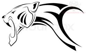 jaguar tribal design