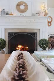 Living Room Mantel Decor Winter Mantel Decor Lehman Lane