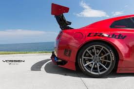 nissan gtr rocket bunny red rocket bunny nissan gt r with vfs 1 vossen wheels cars
