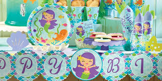 mermaid party supplies mermaid party supplies mermaid birthday party party city