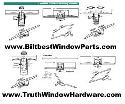 Awning Parts Biltbest Wood Window Sash Replacement Parts Casement Awning Part