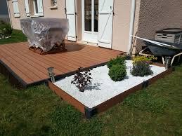 Parpaing Plein Castorama by Comment Poser Une Terrasse Composite Sur Lambourdes Et Plots