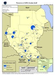 Map Of Sudan Who Sudan Maps