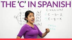 the letters c k s z in spanish youtube