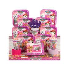paw patrol pink deluxe tableware kit partyland zealand u0027s