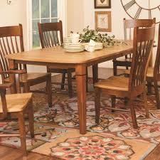 millsdale rectangular dining table by daniel s amish wolf and millsdale rectangular dining table