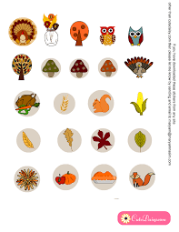 thanksgiving stickers free printable thanksgiving decorative stickers