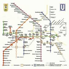 Cold War Germany Map by Berlin Metro Map During Cold War Ignoring West Berlin 696x493