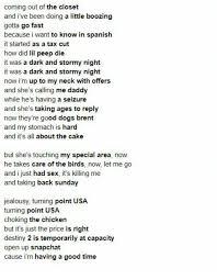best part lyrics spanish 25 best memes about cause im having a good time cause im