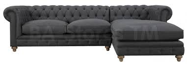 oxford sofa oxford grey linen sectional sofa sectional sofas tov s36 sec l 3
