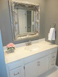 bathroom mirror ideas diy livelovediy diy bathroom remodel on a budget
