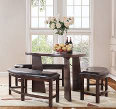 triangle pub table set triangle dining table set for your great home