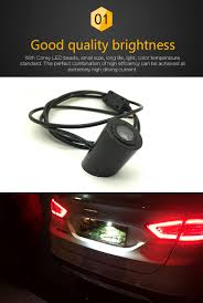 lexus gs430 led tail lights 12v car laser tail logo led anti collision taillights fog rearing