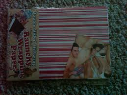 raunchy wrapping paper the raunchy wrapping paper one side is stripes the other side
