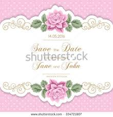 shabby chic wedding invitation stock images royalty free images