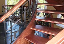 open riser stairs are gaining popularity artistic us
