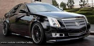 lowered cadillac cts modified cadillac cts sedan second generation