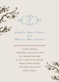fancy invitations online beautiful cherry blossom wedding invitations ewi098
