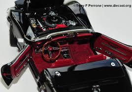 1968 corvette interior 1968 corvette convertible diecast model legacy motors