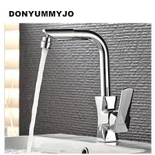 Quality Kitchen Faucet Donyummyjo High Quality Kitchen Faucet Chrome Plated Copper Single