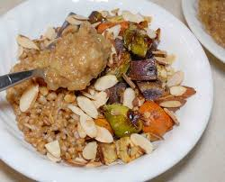 Chinese Root Vegetables - roasted root vegetables with parmesan wheat berries alison u0027s