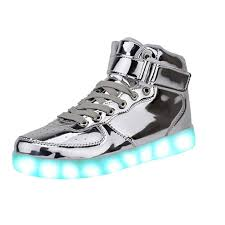 how to charge light up shoes greatjoy kids led shoes light up sneaker 7 color flash usb