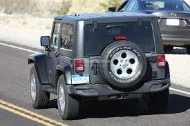 jeep truck 2018 spy photos 2018 jeep wrangler jl with six speed manual transmission