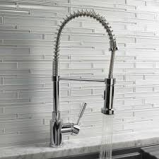 kitchen faucet gpm meridian semi pro kitchen faucet 1 8 gpm by blanco yliving