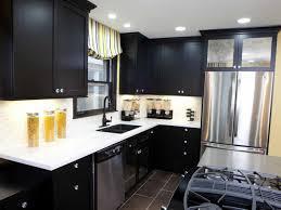kitchen cabinets installed black kitchen cabinets installed in a kitchen with undermount sink