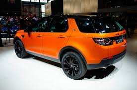 lifted land rover lr2 2015 land rover discovery sport poses for cameras in paris