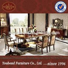 0063 solid wood antique dining room set italian style dining room