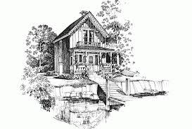 eplans gothic revival house plan carpenter gothic charmer 896