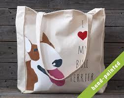 bull terrier gift etsy