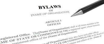 bylaws are sometimes like a decades old hairstyle for purpose