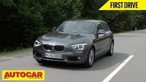 bmw one series india 2013 bmw 1 series hatchback drive autocar india