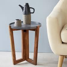 bouts de canapé bout de canapé en palissandre table pas cher tikamoon