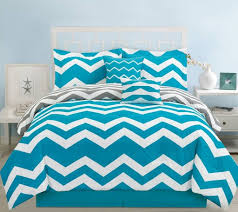 teal crib bedding set bedroom attractive queen teal chevron bedding comforter set