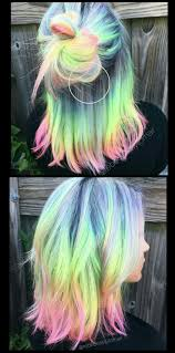 25 best ideas about highlights underneath on pinterest best 25 rainbow hair ideas on pinterest crazy color hair dye