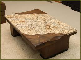 coffee table exciting granite coffee table ideas glamorous brown