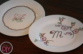 12 days of gifts day 11 dot painted dishes