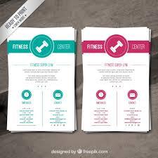 fitness flyer template fitness brochure templates fitness brochure template vector free