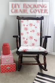 incredible rocking chair cushions indoor and adirondack rocking