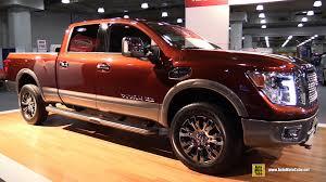nissan titan interior 2016 2016 nissan titan xd np1500 exterior and interior walkaround