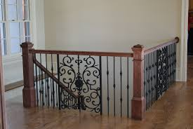 Iron Handrail For Stairs Stairs Astonishing Wrought Iron Rails Cool Wrought Iron Rails