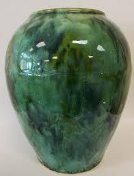 Mccoy Vase Value Vintage Brush Mccoy Green Onyx Prissysnewberryantiques