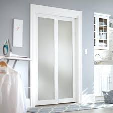 frosted glass interior doors home depot white closet doors smooth flush solid primed chrome trim